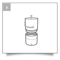 Etape 03 - Guide d'utilisation tampon 25mm