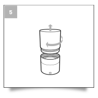 Etape 05 - Guide d'utilisation tampon 25mm