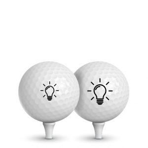 Tampon Balle de Golf