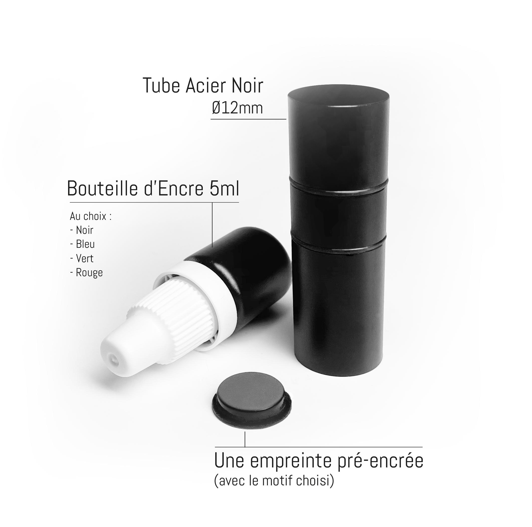 kit complet tampon diamètre 12mm